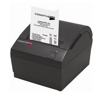 Cognitive Thermal Receipt Printer, Power Supply, Dark Gray