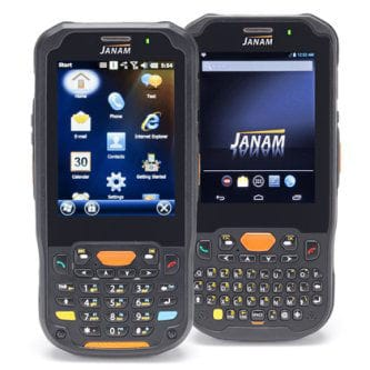 JANAM RUGGED PDA: ANDROID JB 4.2