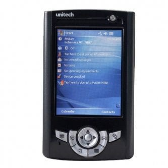 Unitech PA500E WEH6.5 Wireless 11BGN 1D Scan 256/512MB 3.5QVGA Touch Screen