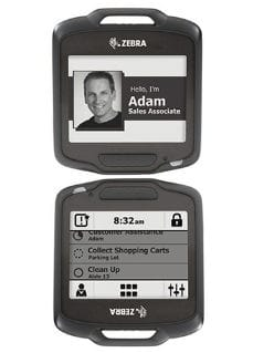 SB1 Smart Badge, Healthcare Blk, E Ink Display