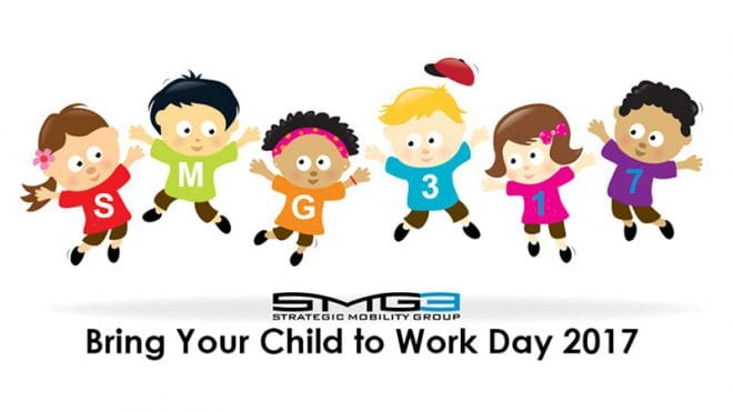 """Strategic Mobility Group, LLC Hosts Third Annual """"Bring Your Child To Work Day"""""""