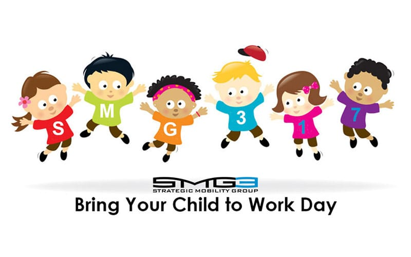 "Strategic Mobility Group, LLC Hosts Third Annual ""Bring Your Child To Work Day"""