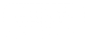 WBENC Certified Seal White