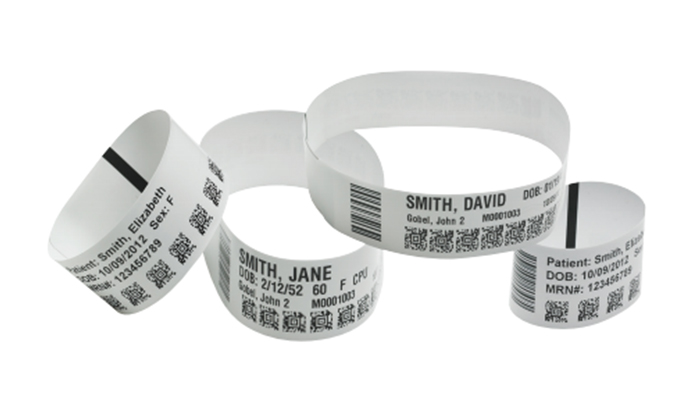 picture about Printable Wristband Sheets known as Laser, Thermal Printable and RFID Wristband Goods