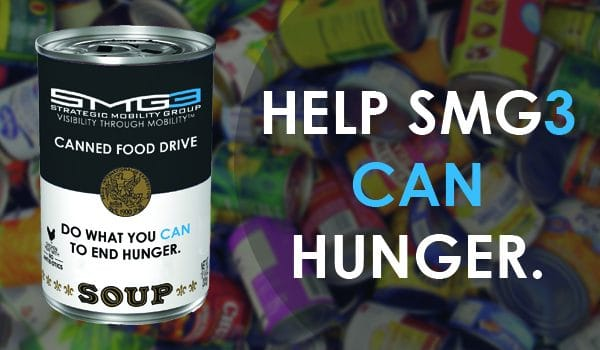 Strategic Mobility Group, LLC Announces Be The Good Canned Food Drive