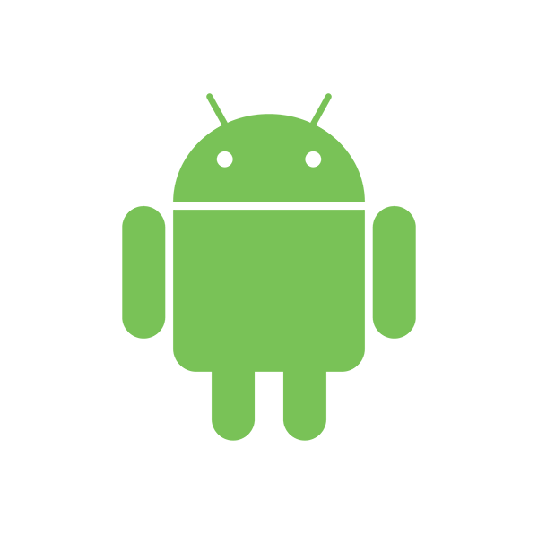 Official Android White Outline for Sliders_Smalll