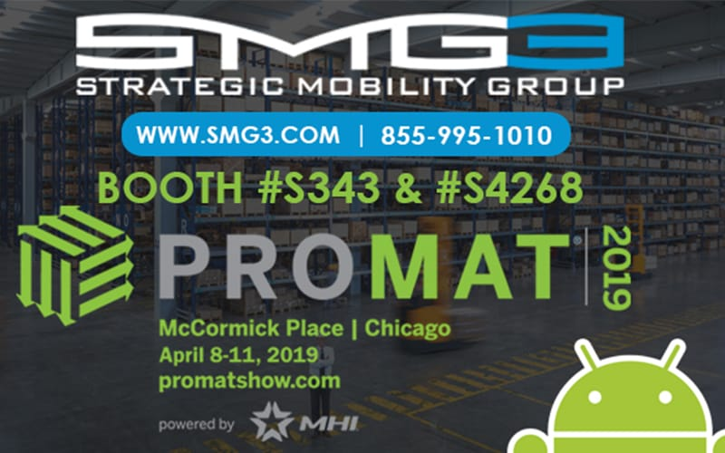 Strategic Mobility Group, LLC to Deliver Innovative Technology Solutions at ProMat 2019