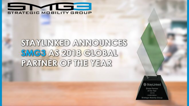 Strategic Mobility Group, LLC Wins 2018 Global Partner of the Year