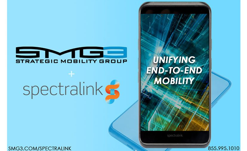 Strategic Mobility Group, LLC (SMG3) and Spectralink Announce Partnership